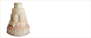 Торт свадебный 5 ярусов