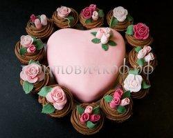 Свадебный торт #11