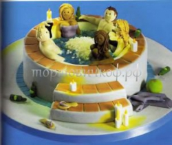 Торт на заказ эротика - В сауне