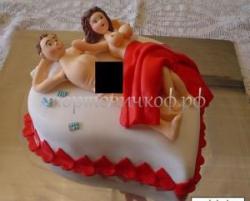 Торт на заказ эротика - Амур