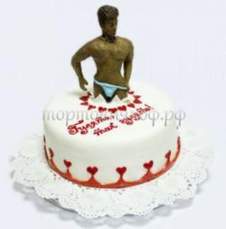 Торт на заказ эротика - Стритизер