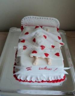 Торт на заказ эротика - Молодожены