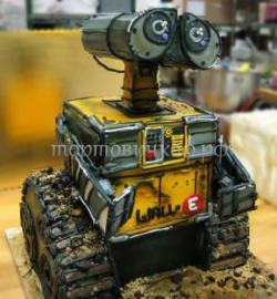 Торт на заказ -  робот Валли