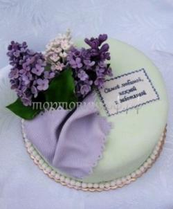 """Тортик для мамы на день рождения - """"Тая"""""""
