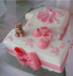 Детский торт на заказ - Годик