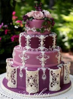 """Свадебный торт на заказ СПб - """"Восточная сказка"""""""