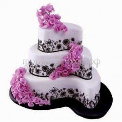 """Свадебный торт """"Элегант"""""""