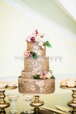 """Свадебный торт """"Сказка"""""""