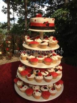 """Свадебный торт """"Ассорти"""""""