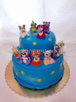 Детский торт #12