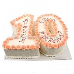 Детский торт на заказ - 10 лет
