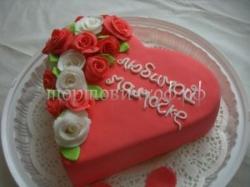 """Торт """"Розы для мамы"""""""