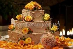 """Свадебный торт """"Сладкая осень"""""""