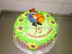 "Торт ""Дедушке 75"""