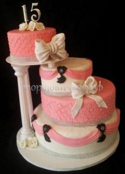 """Свадебный торт """"Юбилейный"""""""