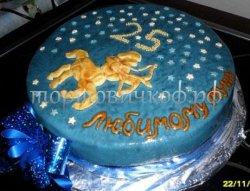 Прикольные торты на день рождения # 2