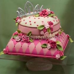 """Свадебный торт """"Принцесса"""""""