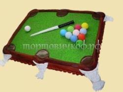 Торт для начальника - Бильярд