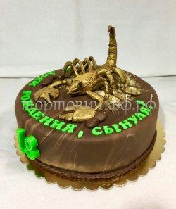 Прикольные торты на день рождения # 6