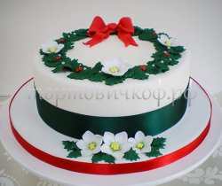 Торт на новый год #13