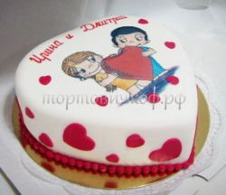 Свадебный торт на заказ - LOVE