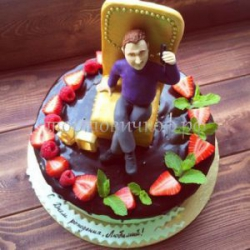 Торт - Начальник на работе