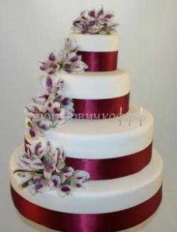 Свадебный торт на заказ СПб - Делюкс