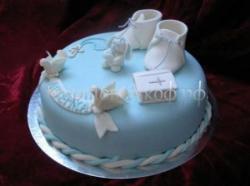 Торт на крестины №1