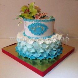 Свадебный торт #7