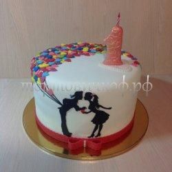 Необычные торты #8
