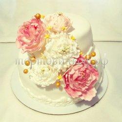 Свадебный торт #10
