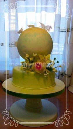 Свадебный торт #12