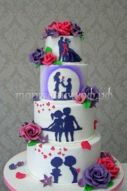 Свадебный торт #21