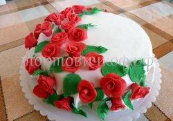 Свадебный торт #23