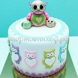 Детский торт #123