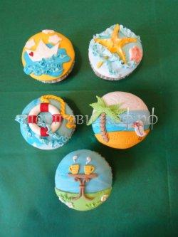 Капкейки и мини пирожные #18