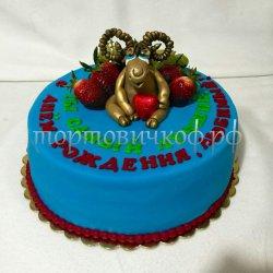 Прикольные торты на день рождения # 14