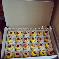 Капкейки и мини пирожные #24