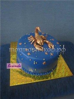 Прикольные торты на день рождения # 16