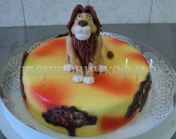 Прикольные торты на день рождения # 28