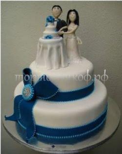Прикольные торты на свадьбу # 1