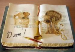 Торт на заказ - Книга ботан