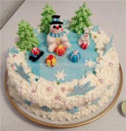 """Торт """"Новый год №2"""""""