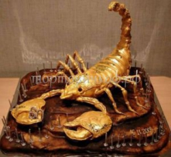 Торт на заказ - Скорпион