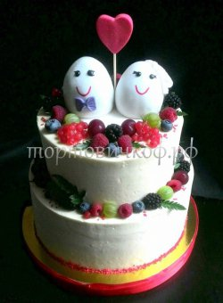 Свадебный торт #16