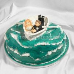"""Торт """"В лодке"""""""