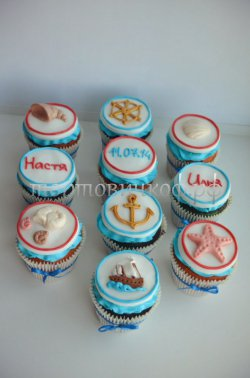 Капкейки и мини пирожные #16