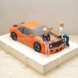 Торт для мужа - Гонщик