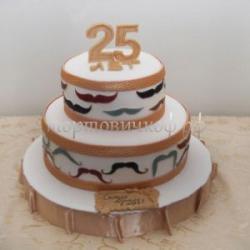Заказать торт на юбилей 25 лет
