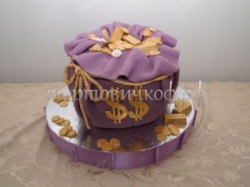 Торт для мужа - Мешок денег